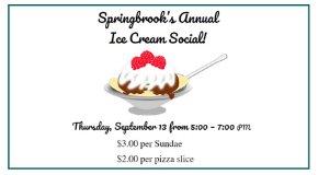 Springbrook's Annual Ice Cream Social