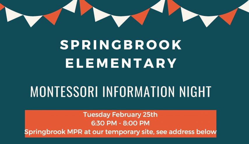 Montessori Information Night
