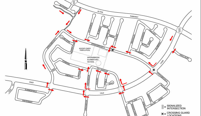 Suggested Route to School
