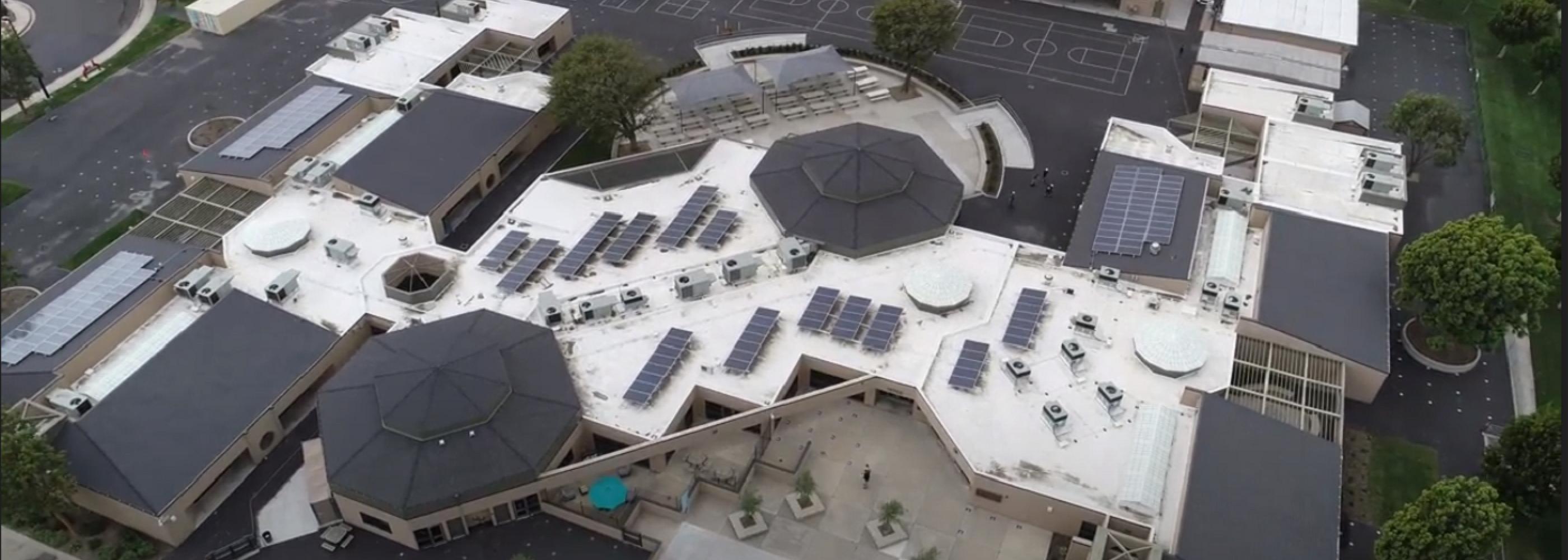 Springbrook School Aerial Photo