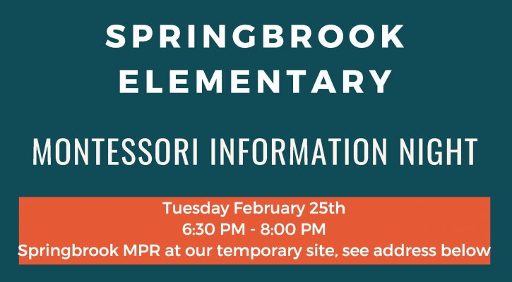 Montessori Information Night